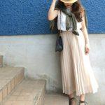 990円で着回し力抜群♡GUのノースリーブTで夏コーデ  ファッション curet [キュレット]   おしゃれな女の子のためのWEBマガジン